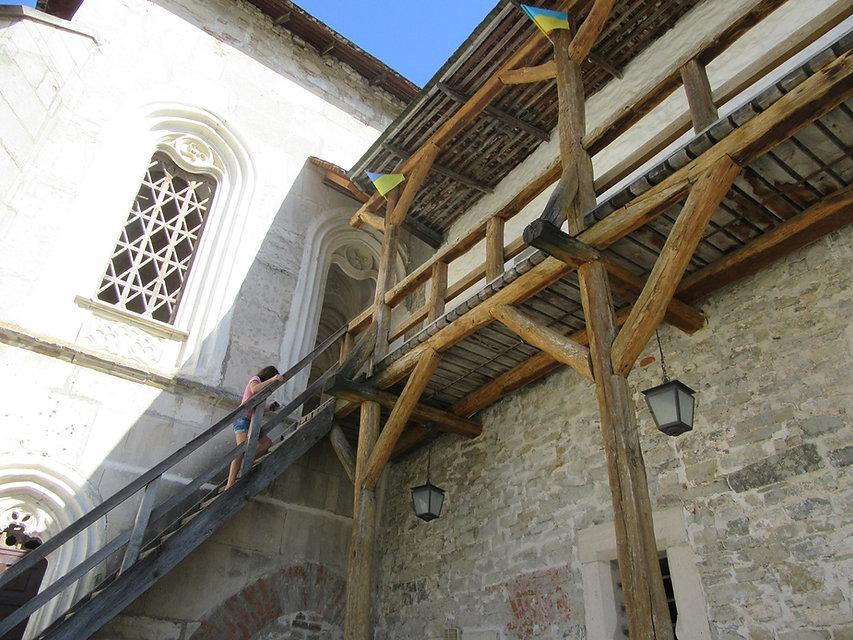 Балкон в крепости
