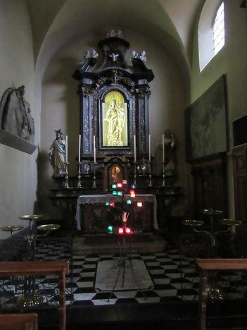 Варенна, церковь святого Георгия, алтарь