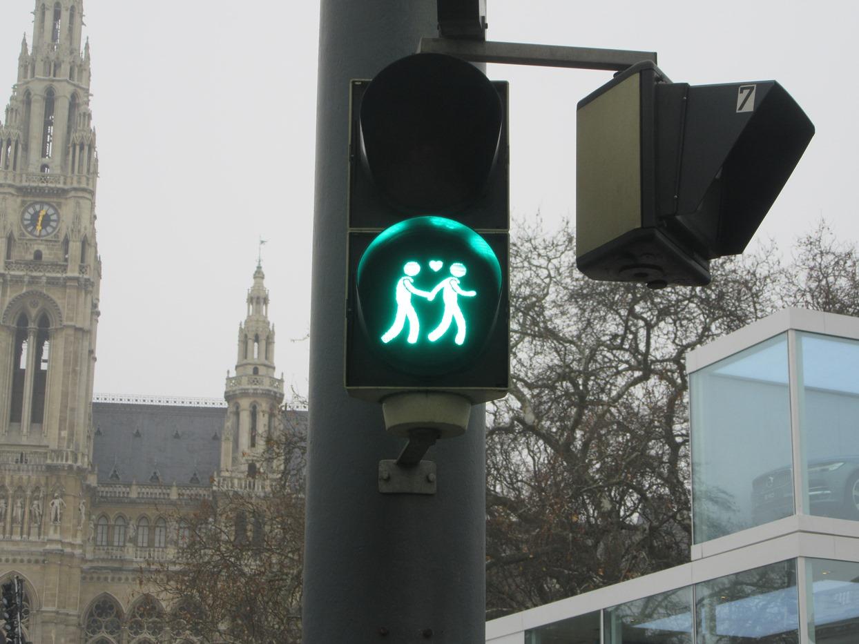Разве не милый светофор?