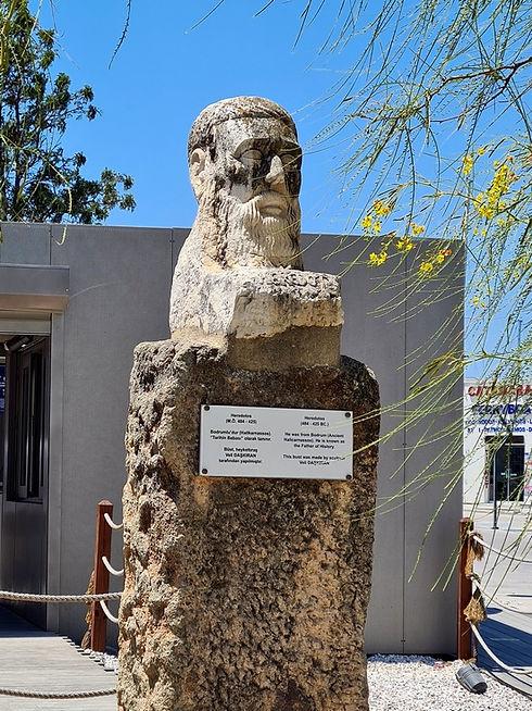 Памятник Геродоту в Бодруме