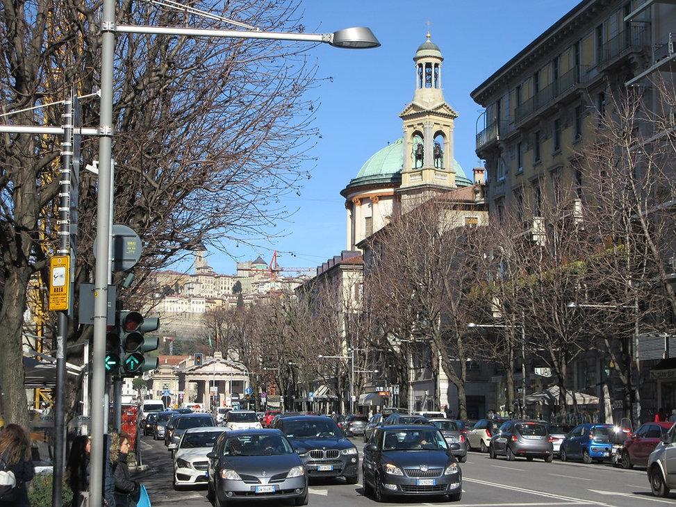 Центральная улица Бергамо