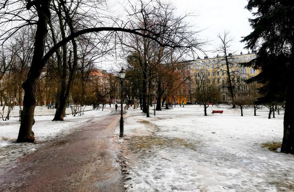 Парк в Хельсинки