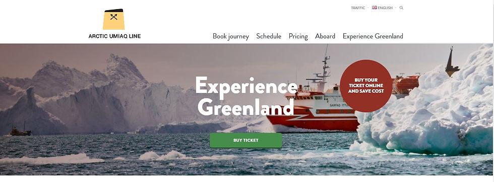 Круизная компания Arctic Umiaq Line
