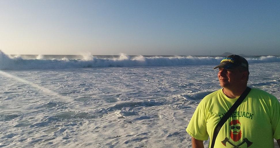 Волны возле острова Сал в Кабо-Верде