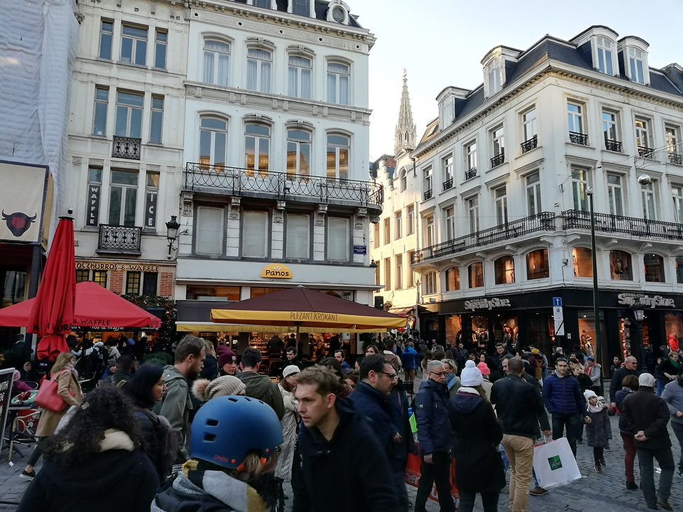 Площадь Агора, Брюссель
