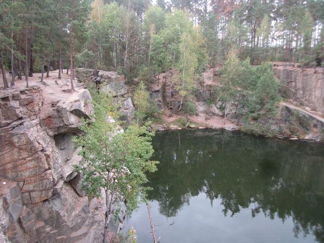 Коростышевский каньон, Украина