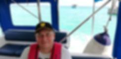 Плывем на катере к своей яхте
