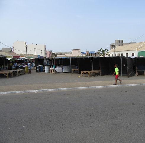 Рынок города Эшпаргуш