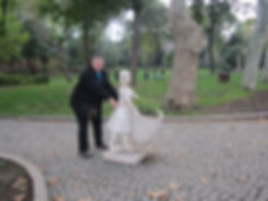 Прогулка в парке Стамбула