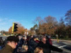 Толпа туристов в Брюгге