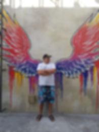 Ангел на пляже Ла Мер, Дубаи