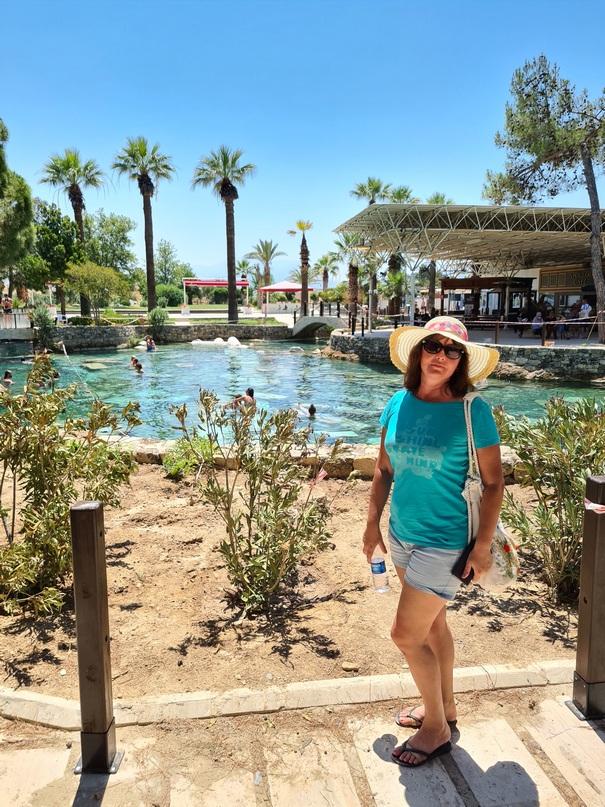 Фотография возле бассейна Клеопатры