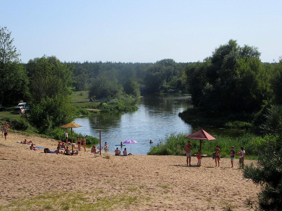 Пляж базы Лесная сказка