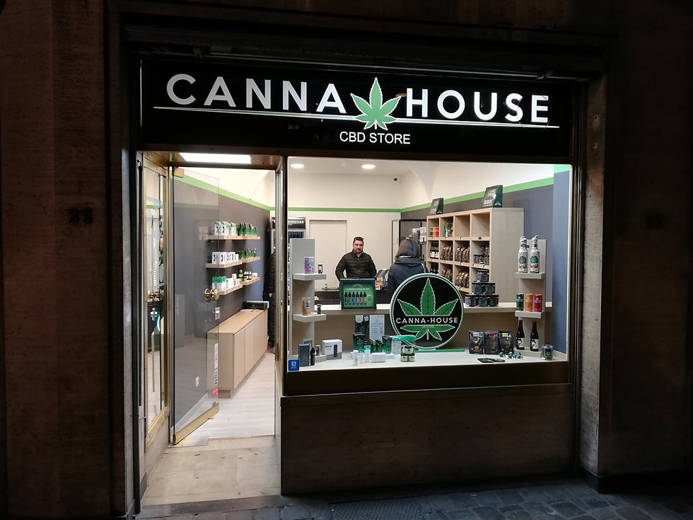 Магазин каннабиса, Брюссель