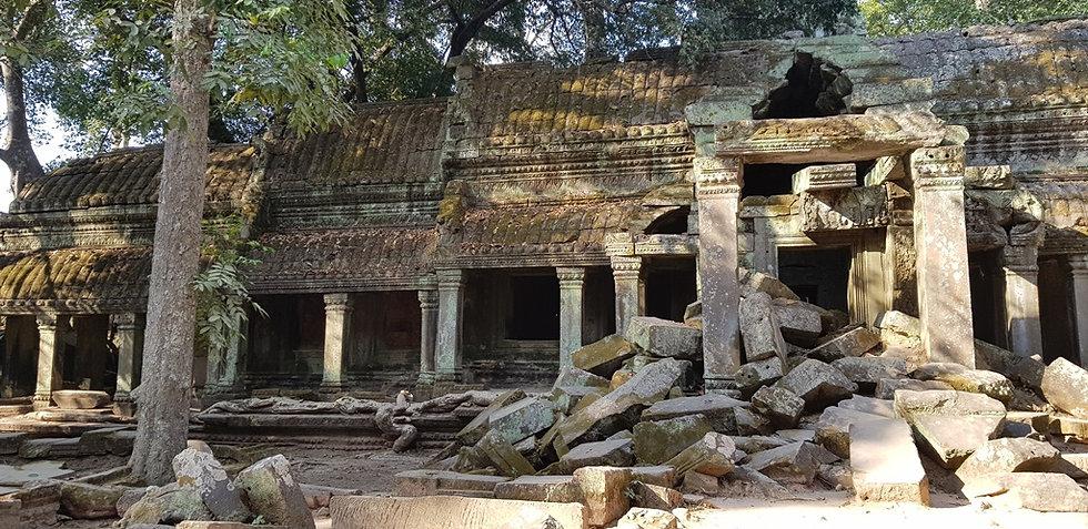 Галерея храма Та Пром