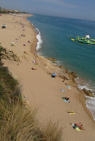 Нудистский пляж в Калелье