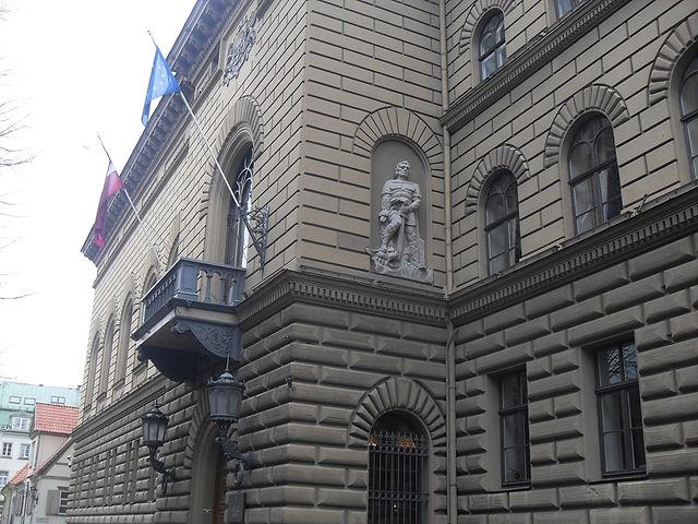 Здание латвийского сейма