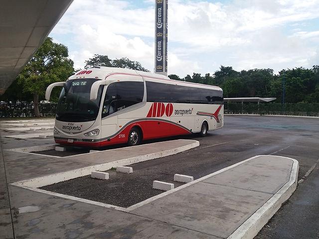Автобус ADO в Канкуне