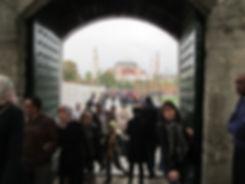Вид на Святую Софию из Голубой мечети, Стамбул