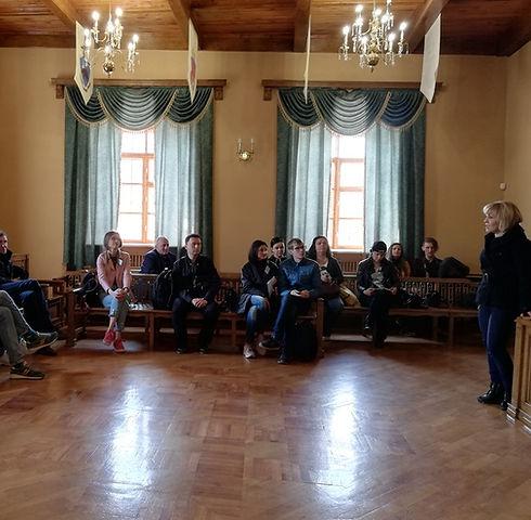 Встреча блогеров в Ратуше