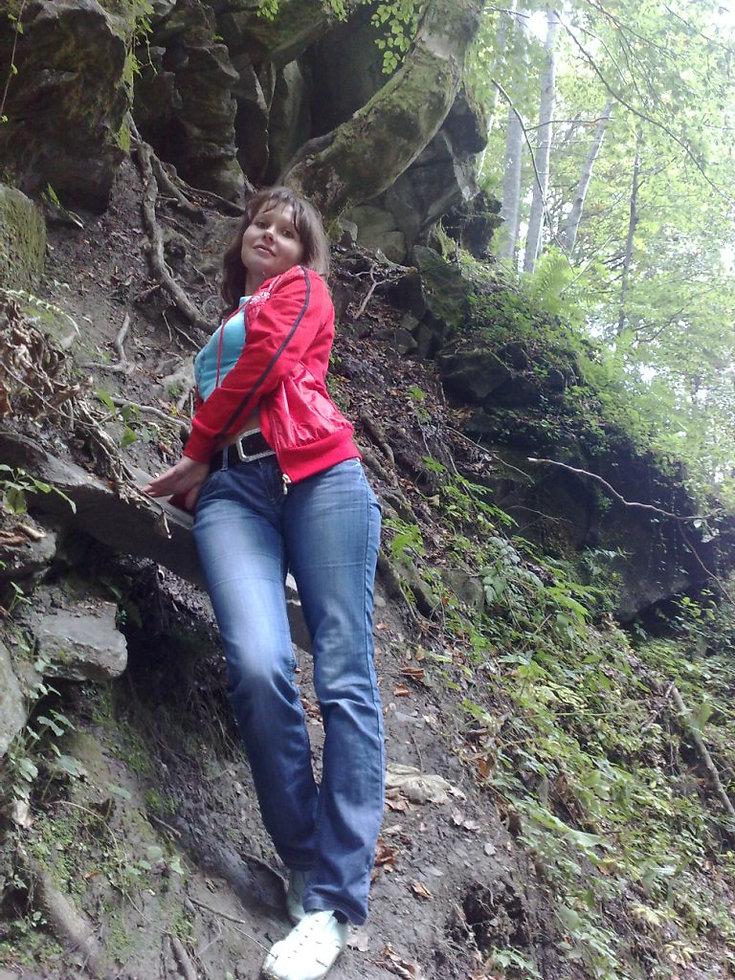 Лес возле водопада Шипит, Закарпатье