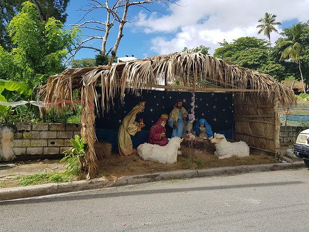 Рождественские ясли в Санта Барбара де Самана