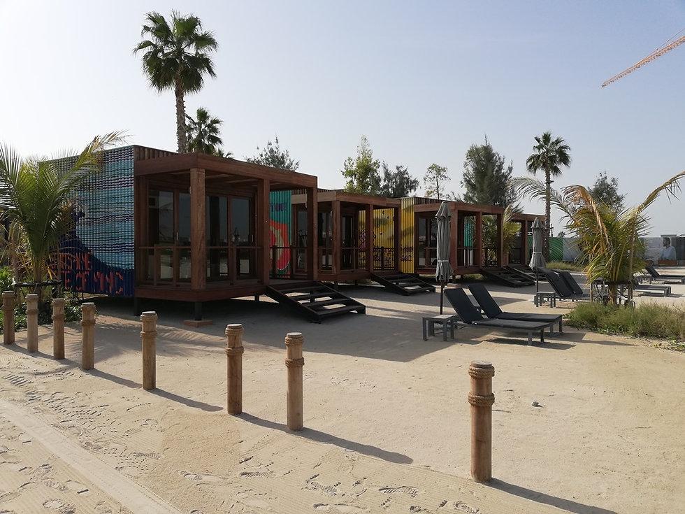 Пляжные домики с кондиционером, Ла Мер