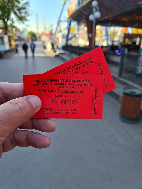 Билеты в парк атракционов