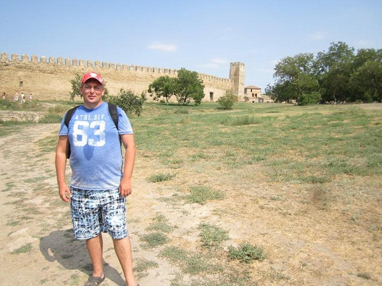 Гуляем во дворе крепости