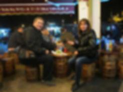 Балык Экмек на набережной Стамбула