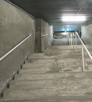 Лестницы ведущие к стадиону