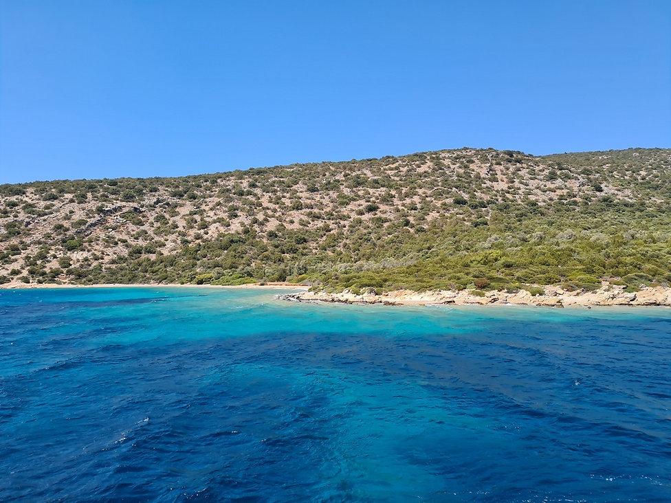 Лазурные воды Эгейского моря