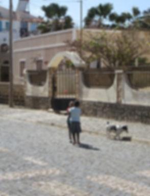 Дети на улицах города Санта Мария