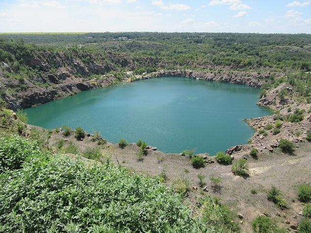 Радоновое озеро, Украина