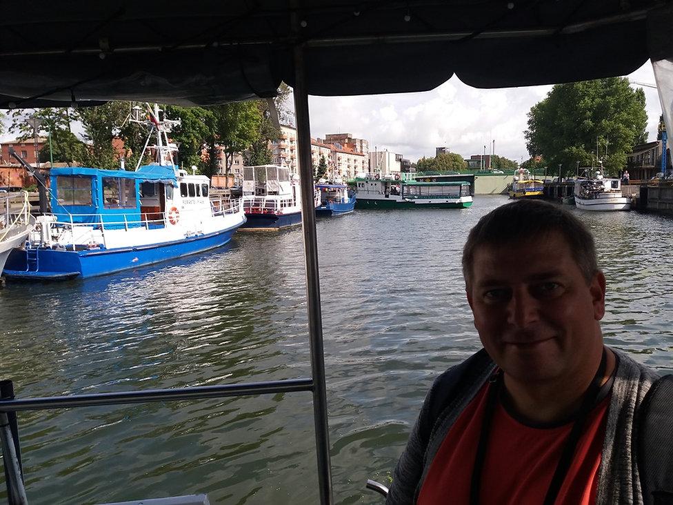 Плывем из Клайпеды на остров Юодкранте