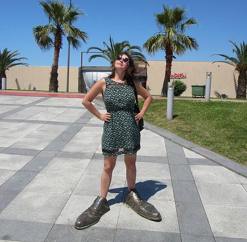 Туфли на набережной в Батуми