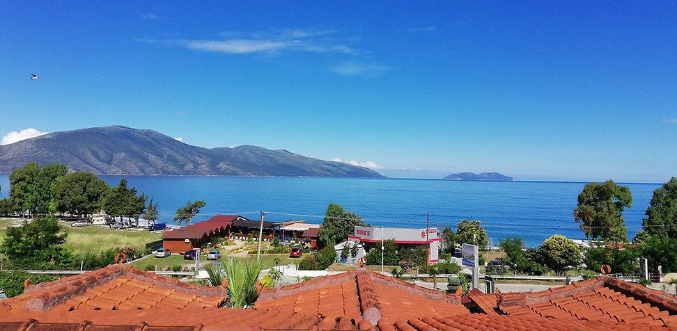 Радим, Албания. Вид а море