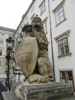 Лев из дворца Хофбург