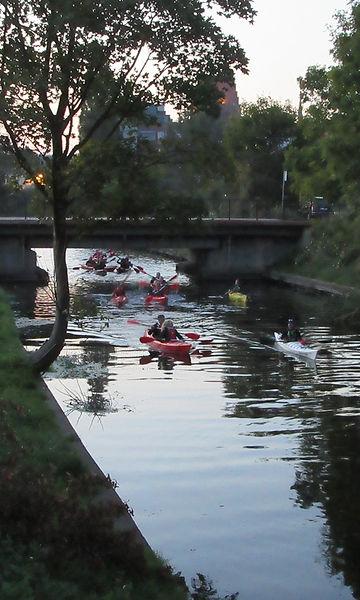 Гданьск, канал