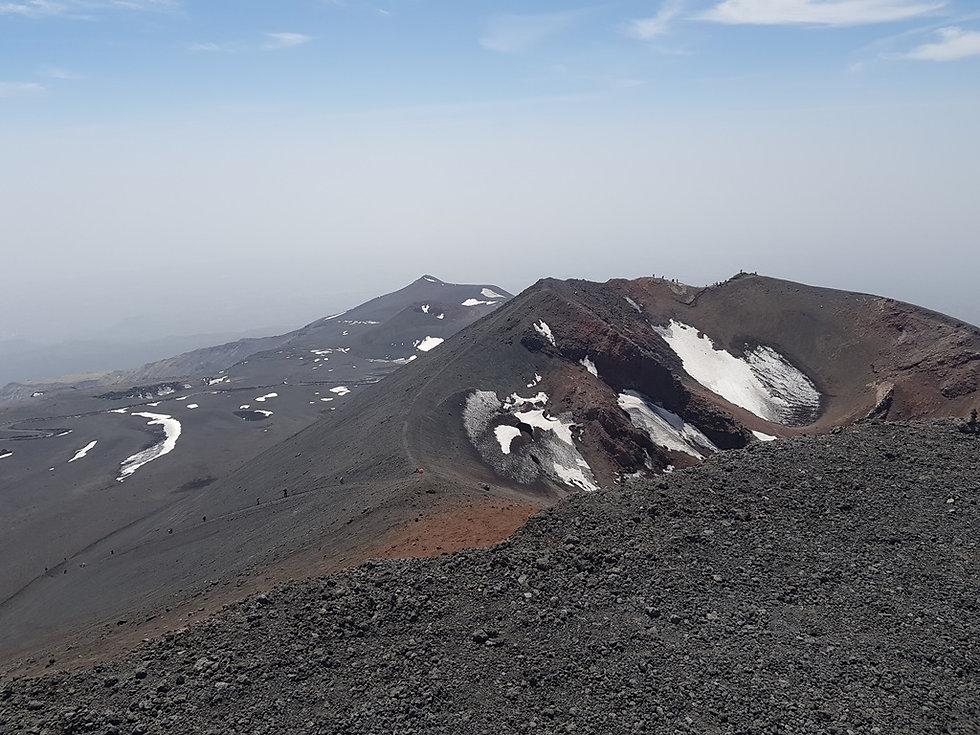 Второй кратер вулкана Этна