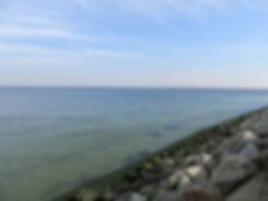 Вид на море из Вестерплатте