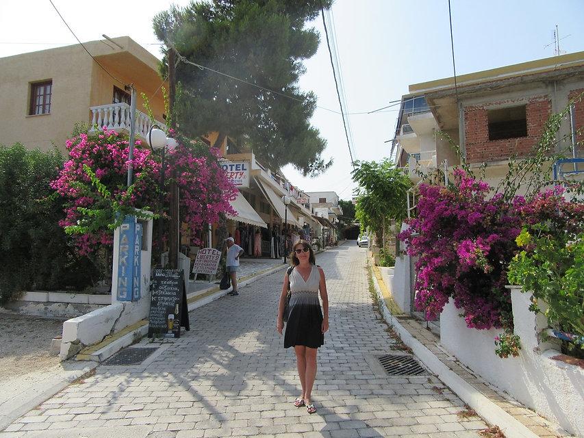 Улицы городка Агья-Марина
