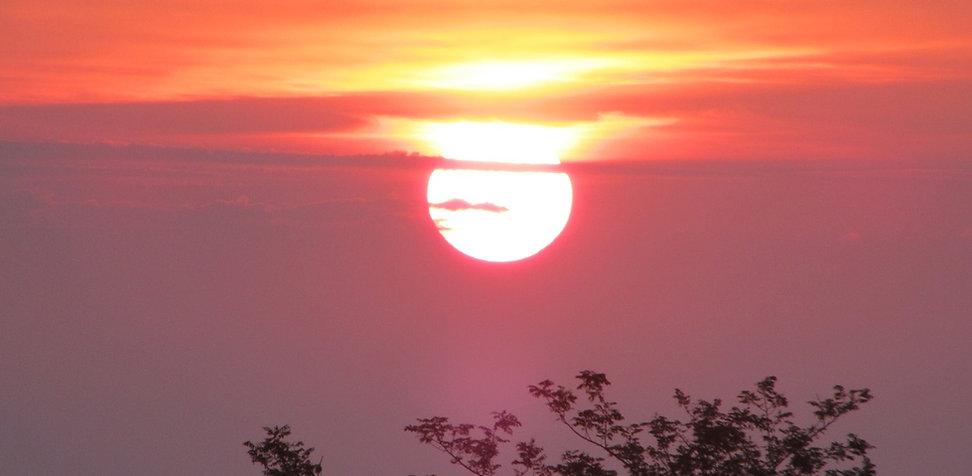 Вечернее солнце в Чакви