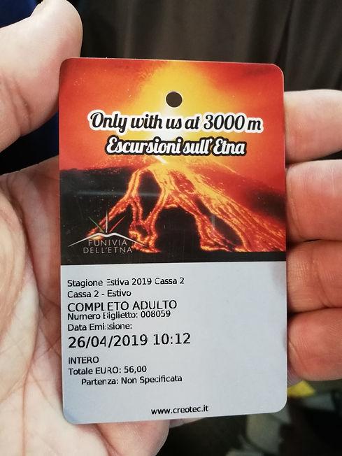 Билет на вулкан