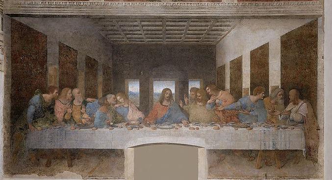 Тайная вечеря, Леонардо да Винчи