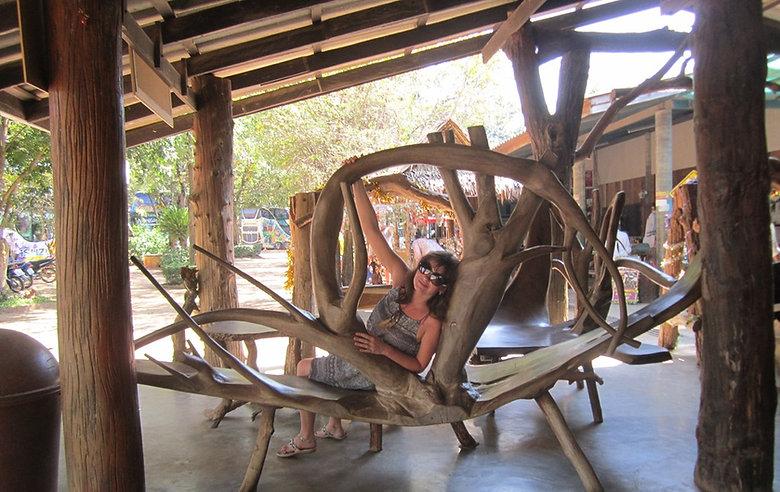 Удивительная мебель Таиланда