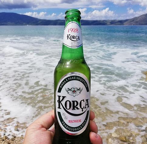 Албания, пиво Корча