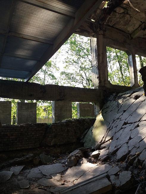 Развалины Вестерплатте