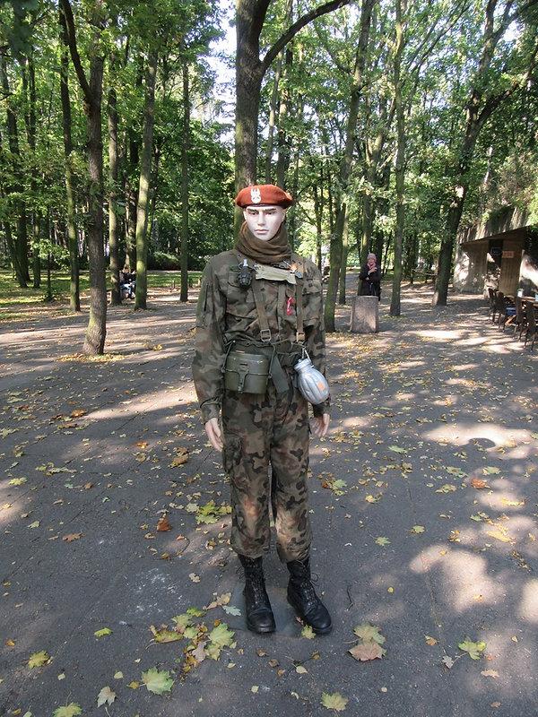 Сувенирная форма польского солдата в Вестерплатте