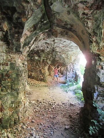 Внутри Таракановского форта